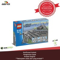 Jual  LEGO  7895 CITY  SUPPLEMENTALSWITCHING TRACKS T0210 Murah