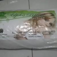 Jual Guling Bahan Katun Isi Silicon Polyester Kualitas Premium ALPHA PILL Murah