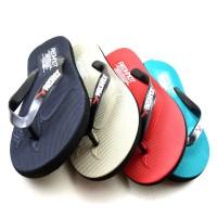 Jual  Sepatu Pria Sneakers Santai Redknot Brianette 11 Blue Denim Tan T1910 Murah