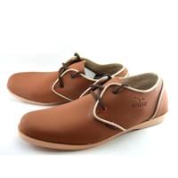 Jual  Sepatu Pria Sneakers Santai Kampus dan Kerja Redknot Aether Tan T1910 Murah
