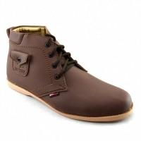 Jual  Sepatu Pria Sneakers Boot Santai Kampus dan Kerja Redknot Ananke  T19 Murah