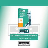 Jual Antivirus ESET Smart Security Premium 11 3 PC 1 Tahun Murah