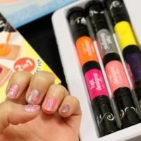 Jual  6 Color Starter Kit Hot Design Nail Art Basic Kit T3010 Murah