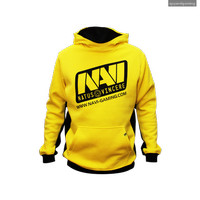 Jumper Jacket Hoodie Sweater Natus Vincere ( NaVi ) Yellow Player 2016