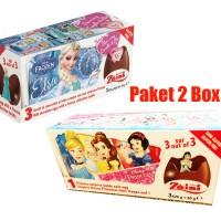 Paket 2 Box Zaini Surprise Egg Frozen Elsa & Princess