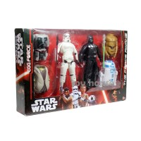 Jual Sale Action Figure Star Wars  Egg Forces Transformation Set Of 6 Murah