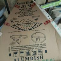 Dish Antena Parabola Solid 6ft 6 feet Tanaka Lubang Galvanis C/KU Band