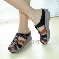 Jual Sandal Mulan 1125 Sandal Wanita Wedges - Sepatu Sandal Replika Kickers Murah