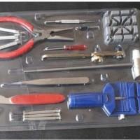 Tool Alat Servis Jam Tangan Set 16PCS/ Obeng service Jam