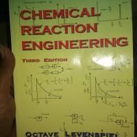 CHEMICAL REACTION ENGINEERING -OCTAVE LEVENSPIEL