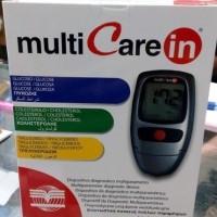 Alat Multicare in 3in1 - Alat Tes Trigliserida Multicare