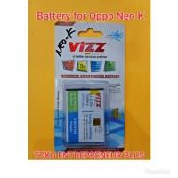 Jual Baterai Battery OPPO Neo K. Neo3. yoyo. R1 VIZZ Double Power Murah