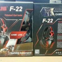 Jual Headset Gaming Rexus F-22 Murah