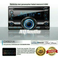Double Din Clarion CX501A Bluetooth USB ipod