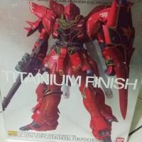 Gundam Sinanju Titanium Finish MG