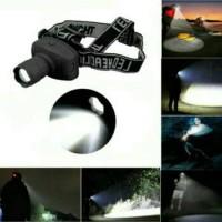 Senter LED Kepala Zoom - LED Head Lamp