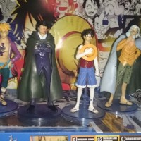 Jual Styling Figure One Piece Luffy dragon Marco Rayleigh set grandline glm Murah