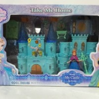 Jual beauty my castle princess frozen / mainan boneka rumah rumahan Murah
