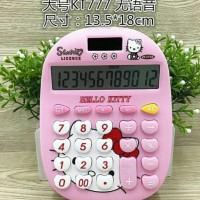 Jual Kalkulator karakter Hello Kitty, Doraemon type 777 Murah