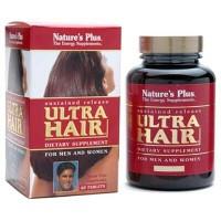 Suplemen rambut NATURES PLUS Ultra Hair (60)