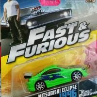 Jual Fast Furious Mattel Mitsubishi Eclipse Murah