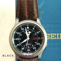 Jual Jam Tangan Seiko SNK809 Seiko 5 Automatic, Black Canvas Murah