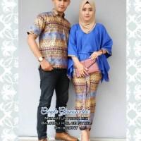 Jual Couple Batik Rok Blus Batwing Ganesa Etnik Murah