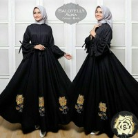Gamis Syar'i Alika | Baju Setelan Muslim / Maxi dress