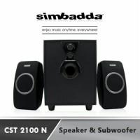 speaker simbadda cst 2100nr multi media usb&sd card