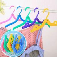 Jual Magic Hanger Baju Lipat Jemuran Pakaian Serbaguna Murah