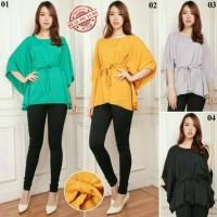 atasan blouse batwing kalong jumbo/baju wanita