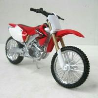 Jual Miniatur Motor Trail Honda CRF450R Diecast Maisto 1:12 Murah