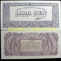 harga Uang Kuno Indonesia Ori 5 Sen 1945 Unc Koleksi Numismatik Tokopedia.com