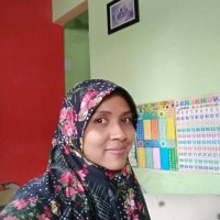 Jual hijab serut cantik bermotif Murah