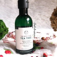 Jual The Body Shop Tea Tree Facial Wash 250ml Murah