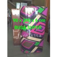 KASUR BUSA LIPAT KUALITAS SUPER KATUN UK 90X200X6 CM