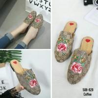 Jual Sepatu Sandal Wanita Import Gucci New Princetown #508-829 Murah