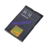 Baterai Batre Batrai Battery Batteri Nokia C3/N900 BL-5J Original c3
