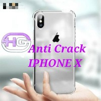 Case Casing Anti crack IPHONE X Jelly dilikon HP