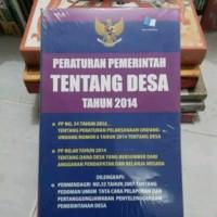 peraturan pemerintah tentang desa tahun 2014