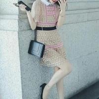 Jual lulu lace dress import Murah
