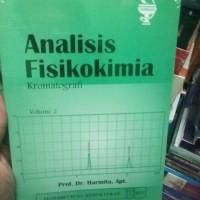 analisis fisikokimia kromatografi volume 2 - harmita - buku asli - EGC