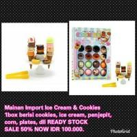 Jual Mainan Edukasi Anak Import Ice Cream Cookies Masak Masakan Murah Murah