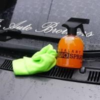 Jual Sealant Nano Spray efek daun talas Coating pengkilat body + microfiber Murah