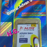 Baterai Hp Advan Type S4A plus Daya 3800 mAh Double Power Original Alt