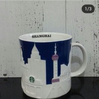 Starbucks Relief Mug Shanghai, China
