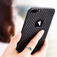 Case Iphone 8 Plus Carbon Fibre Rugged Armor Ver-3 Soft Shell Brushed