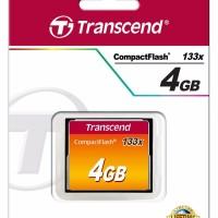 Jual CompactFlash 133x Standard 4GB Transcend Murah