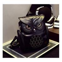 Jual Tas Ransel Kulit Wanita Model Bentuk Owl Burung Hantu Berkualitas Murah