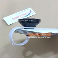 Jual Termurah Lensa SUPER WIDE 0 4x CLIP Universal pasangan tongsis Murah